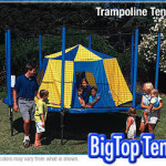 a tent designed specifically for your trampoline