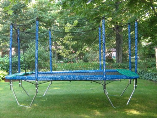 10' x 14' trampoline with a TC380 Enclosure