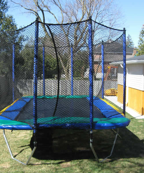 Softbounce And Hardbounce Mini Trampolines: Enclosure For 11' X 17' Rectangular Trampoline