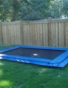 Canadian Made In-Ground 10x14 Trampoline