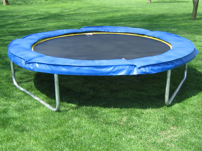 8 Ft Round Aerobic Trampoline By Trampoline Country