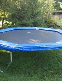 14 ft octagonal trampoline