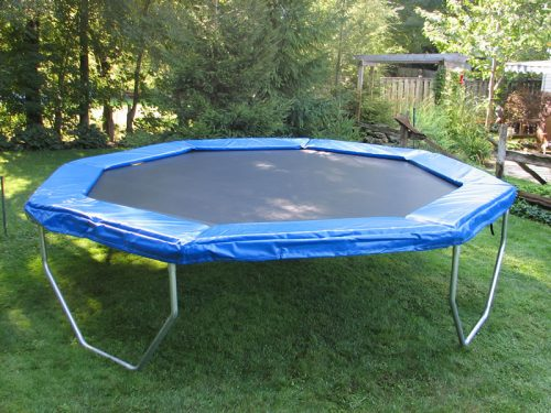 14 Ft Octagonal Trampoline A Great Trampoline For Backyard