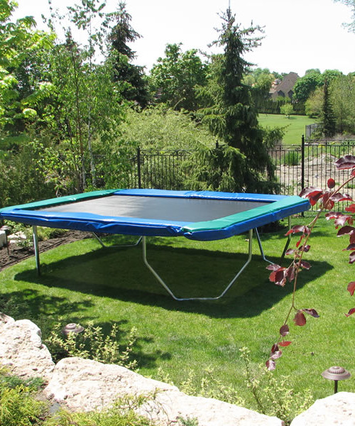 Rectangular Trampolines Offer The Safest, Most Stable Bounce