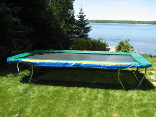 11 Ft X 17 Ft Olympic Size Rectangular Trampoline Best