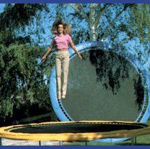 16 ft round trampoline