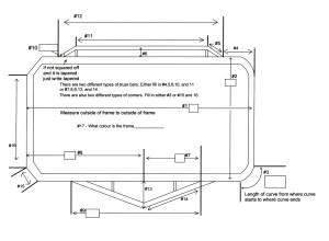 Rect frame pad diagram
