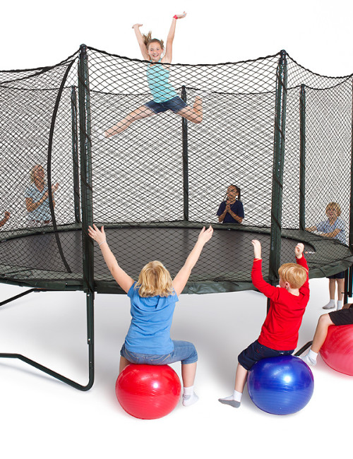 Alleyoop Variable Bounce Trampoline Power Bounce