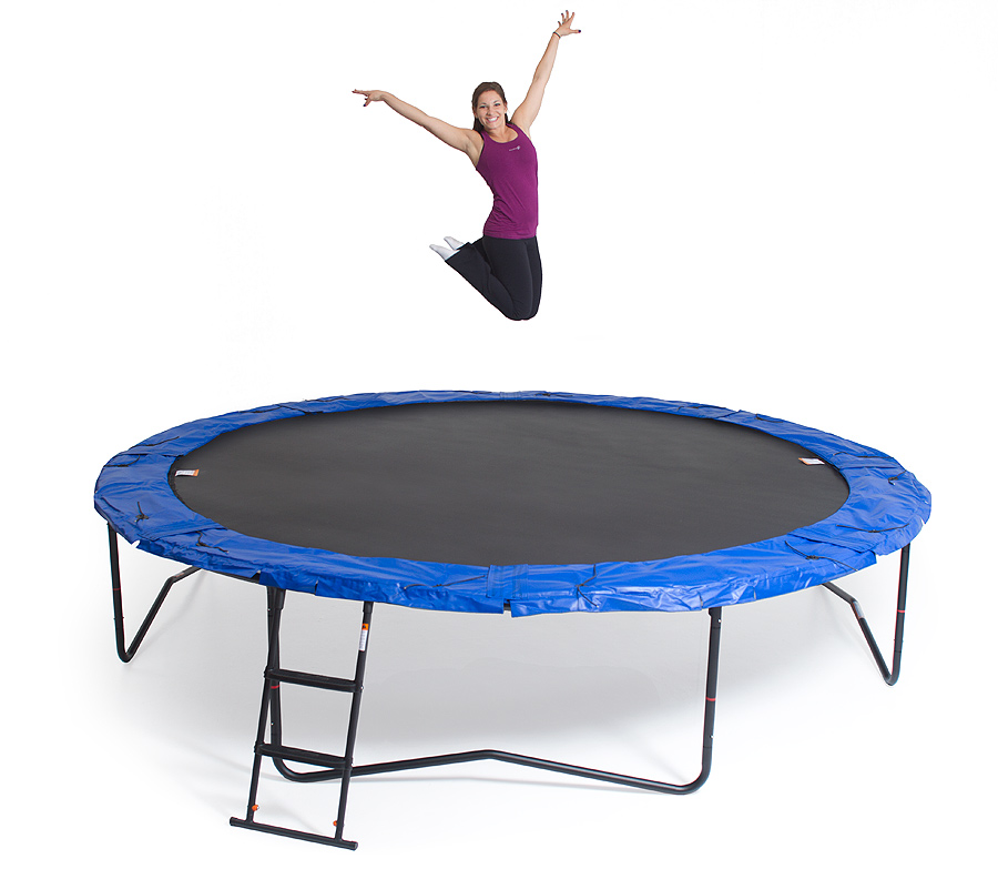 JumpSport Staged Bounce Trampoline
