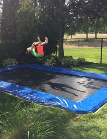 In-Ground Trampoline - what a great idea!