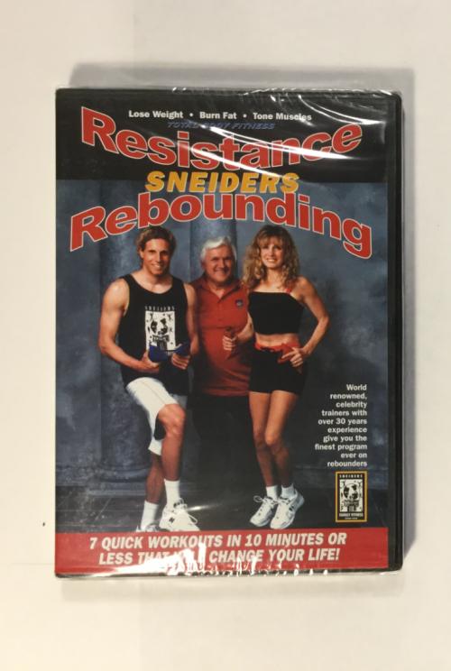 Resistance Rebounding DVD