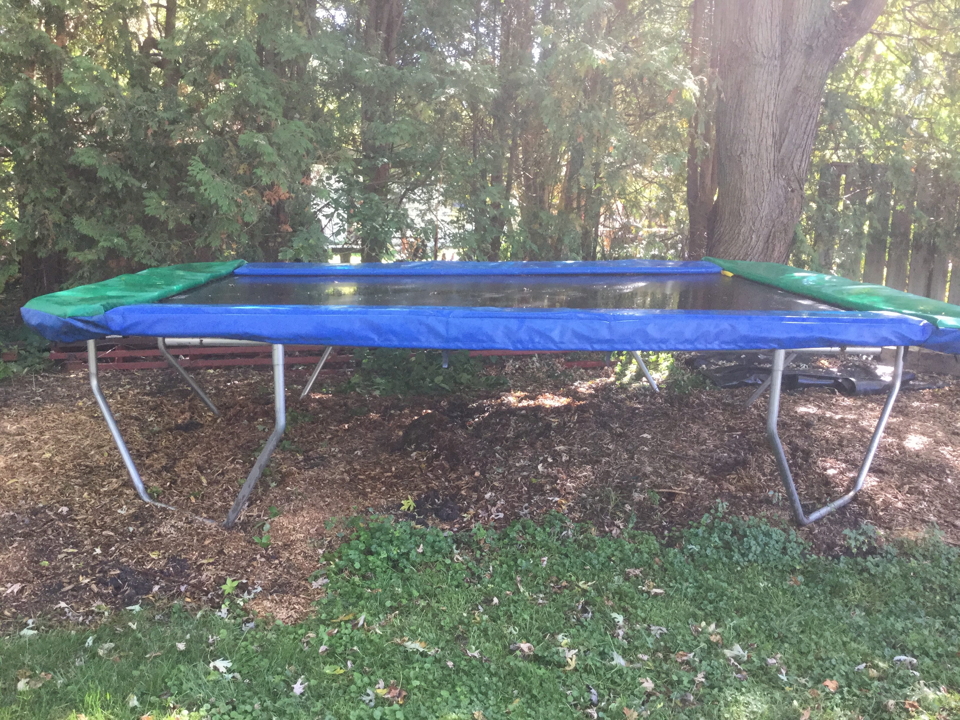 Display 10x14 trampoline